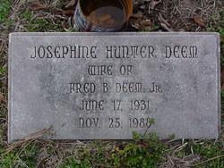 Josephine <i>Hunter</i> Deem