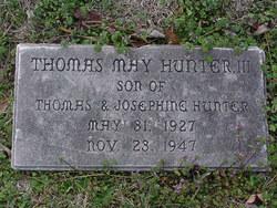 Thomas May Hunter, III
