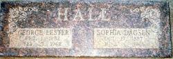 Sophia Marie <i>Dagsen</i> Hall