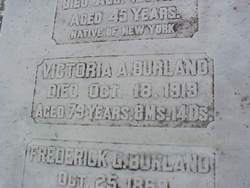 Victoria Augusta <i>Hudson</i> Burland