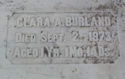 Clara A. Burland