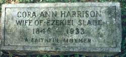 Cora Ann <i>Harrison</i> Slade