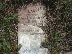 Anne E <i>Langley</i> Jones
