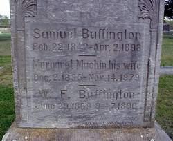 Margaret <i>Machin</i> Buffington