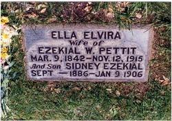 Ella Elvira <i>Kendall</i> Pettit