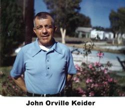 LTC John Orville Keider