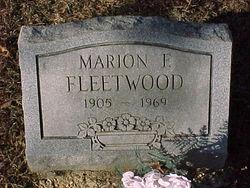Marion Francis Fleetwood