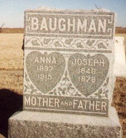 Christanna Anna <i>Conrad</i> Baughman