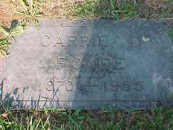 Carrie D. Fonde