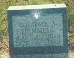 Elizabeth Alice <i>Spillman</i> Trimmell