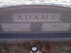 Ada L <i>Goodwin</i> Adams