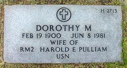 Dorothy M Pulliam