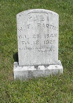 William Franklin Partin