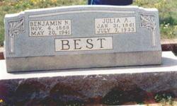 Julia Ann <i>McLaughlin</i> Best