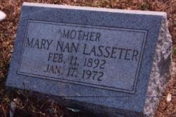 Mary Nan Johnnie <i>Mixon</i> Lasseter