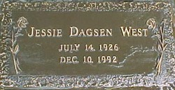 Jessie <i>Dagsen</i> West