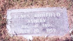 Grace Agnes <i>Whitfield</i> Ashley