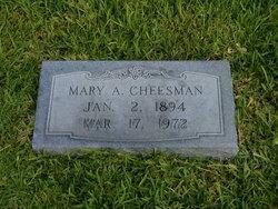 Mary Agnes <i>Adams</i> Cheesman