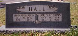 Lou Sinda <i>Robbins</i> Hall