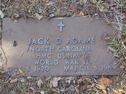 Jack Dea Adams, Jr