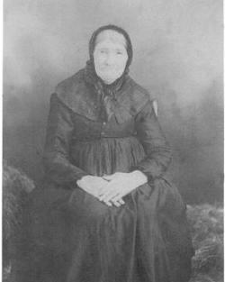 Mary Ann <i>Brown</i> Alberson