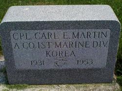 Carl Edward Martin