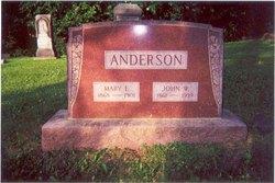 Mary F. <i>McCammon</i> Anderson