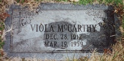 Viola <i>Hamm</i> McCarthy