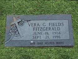 Vera Grace <i>Garrett</i> Fitzgerald