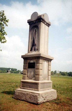 151st Pennsylvania Infantry Monument
