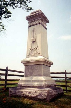 5th New Jersey Infantry Monument
