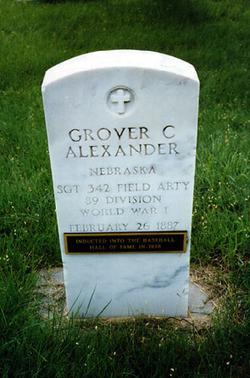 Grover Cleveland Pete Alexander