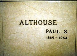 Paul Shearer Althouse