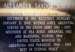 Alexander Sandor Asboth