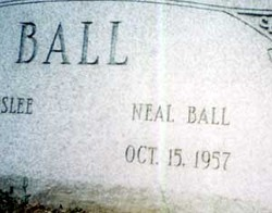 Cornelius Neal Ball