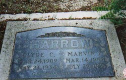 Marvin Ivan Buck Barrow, Sr