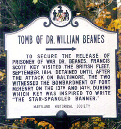 Dr William Beanes