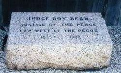 Roy Judge Bean