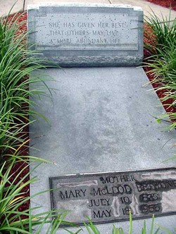 Dr Mary Jane McLeod Bethune