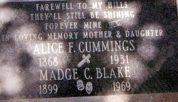 Madge <i>Cummings</i> Blake