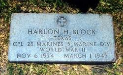 Corp Harlon Henry Block
