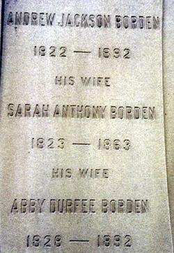 Abby Durfee <i>Gray</i> Borden