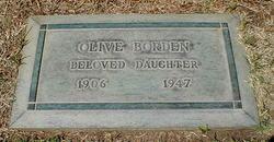 Olive The Joy Girl Borden
