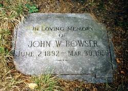 John W. Bowser