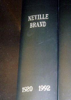 Neville Brand