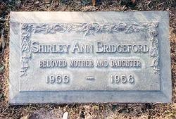 Shirley Ann Bridgeford