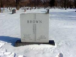 Roger William The Rajah Brown