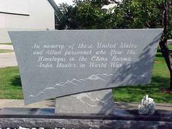 Burma Hop Aviators' Memorial