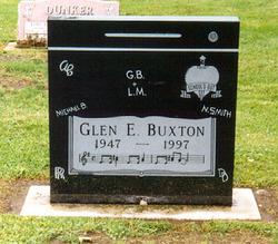 Glen Edward GB Buxton