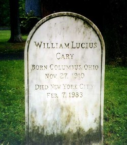 William Lucius Cary
